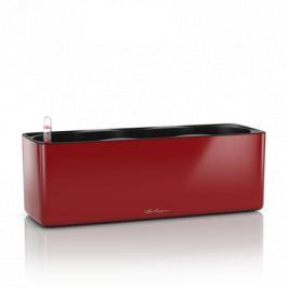Кашпо Cube Glossy Triple, 40х14х13.5 см, красное блестящее, с системой автополива 13672 Lechuza