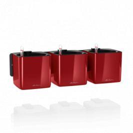 Комплект Green Wall Home Kit Glossy, 48х15х14 см, красный блестящий, с системой автополива 13525 Lechuza
