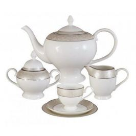 Чайный сервиз Антуанетта на 6 персон, 21 пр. AL-14-603_21-E5 Anna Lafarg