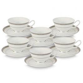 Набор чашек Бостон (0.2 л) с блюдцами, 12 пр. AL-16908_12-E5 Anna Lafarg