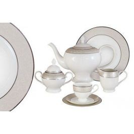 Чайный сервиз Антуанетта на 12 персон, 40 пр. AL-14-603_40-E5 Anna Lafarg