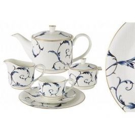 Чайный сервиз Элегия на 6 персон, 21 пр. AL-M1935_21-E9 Anna Lafarg