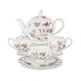 Чайный сервиз Фантазия на 6 персон, 21 пр. AL-M2125_21-E9 Anna Lafarg