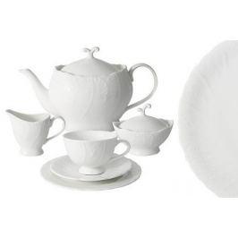 Чайный сервиз Белый город на 6 персон, 21 пр. AL-SM077_21-E6 Anna Lafarg