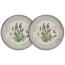 Набор десертных тарелок Лаванда, 20 см, 2 шт. AL-55E2258-L-LF Anna Lafarg