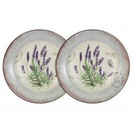 Набор суповых тарелок Лаванда, 21 см, 2 шт. AL-80E2256-L-LF Anna Lafarg