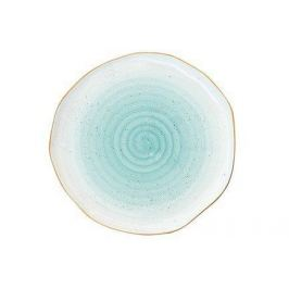 Тарелка Artesanal, 19 см, зелено-голубая EL-1582_ARTG Easy Life (R2S)