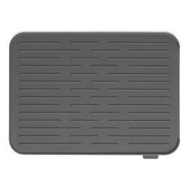 Силиконовый коврик для сушки посуды, темно-серый 117442 Brabantia