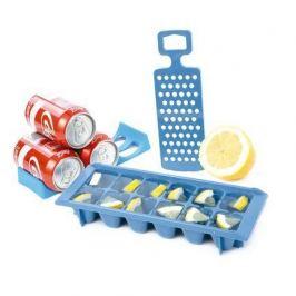 Набор для вечеринок Kitchen Tools, 12х9х30 см, 3 пр, синий 6345AA01 Koala