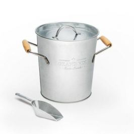 Ведро для льда и охлаждения вина Grand Vin, 19.5х20.5 см, серебряное 26858 Balvi