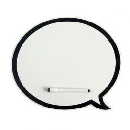 Магнитная доска Talk, 32.7х28.2х0.2 см, с маркером, белая 23869 Balvi