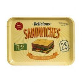 Поднос Best Sandwiches, 45.8х32.5х2.5 см, желтый 25941 Balvi