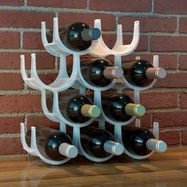Подставка для бутылок Basics, 49х14.3х37 см, белая 26399 Balvi