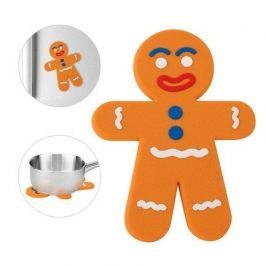 Подставка под горячее The Man, 19х14х0.5 см, магнитная, оранжевая 25694 Balvi