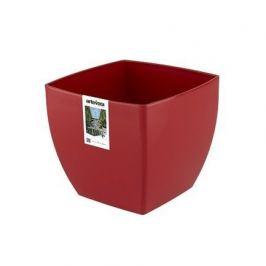 Кашпо Siena, 30х30х27 см, красное глянцевое 801187 Artevasi