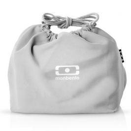 Мешочек для ланча MB Pochette coton, 20х17х19 см, серый 1002 02 210 Monbento