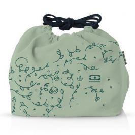 Мешочек для ланча MB Pochette english garden, 20х17х19 см, зеленый 1002 02 432 Monbento
