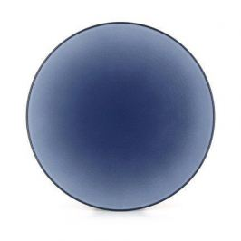 Тарелка обеденная Equinoxe Blue, 24х3 см, синяя 650432 Revol