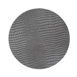 Подстановочная салфетка круглая, 24 см, серая 98620 Lind Dna