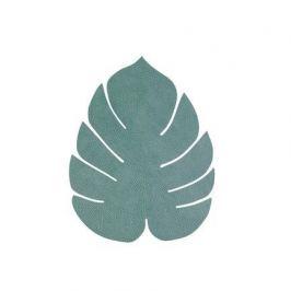 Подстановочная салфетка лист монстеры, 26х22 см, пастельная зеленая 989955 Lind Dna