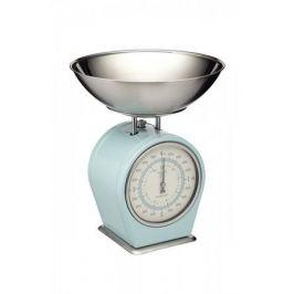 Весы кухонные механические Living Nostalgia blue, голубые LNSCALEBLU Kitchen Craft
