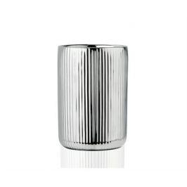 Стакан для зубных щеток Silver Ceramic, серебряный BA68083 Andrea House