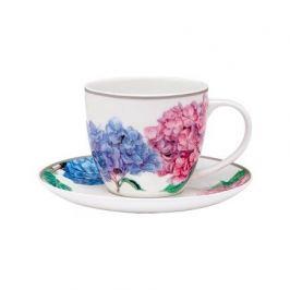 Чашка с блюдцем Hydrangeas (230 мл) 517182 Ashdene