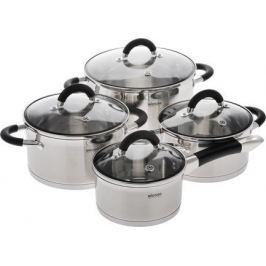 Набор посуды со стеклянными крышками Olina, 8 пр 726419 Nadoba
