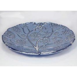 Блюдо для центра стола Снежные хлопья, 36 см, синее IVV-7562.3 IVV
