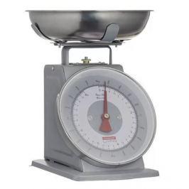 Весы кухонные Living, 24.3х26.3х21.4 см, серые 1400.149V Typhoon