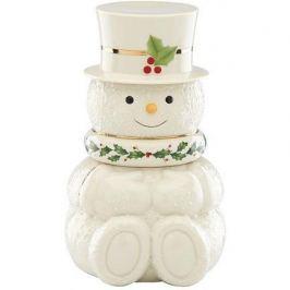 Банка для печенья Снеговик, 23 см LEN869933 Lenox