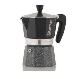 Гейзерная кофеварка Elegance (120 мл), на 3 чашки, черная 0006007 Aeternum