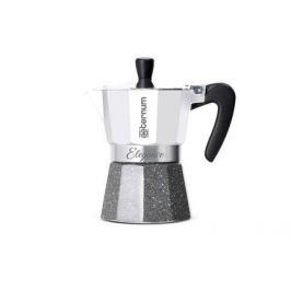 Гейзерная кофеварка Elegance (120 мл), на 3 чашки, белая 0006034 Aeternum