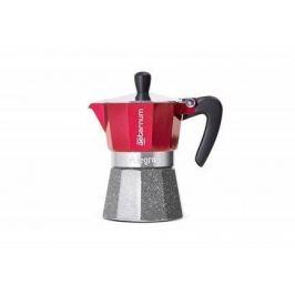 Гейзерная кофеварка Allegra (120 мл), на 3 чашки, красная 0006014 Aeternum