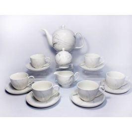 Сервиз чайный на 6 персон Родос, 17 пр. 40104-4 Takito