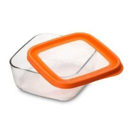 Контейнер Frigoverre Fun (1.6 л), 19х19 см, оранжевый 388820MS7321990 Bormioli Rocco