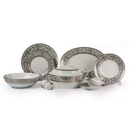 Столовый сервиз Mimosa Prague Platine, 25 пр. 539825 1647 Tunisie Porcelaine