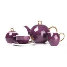 Чайный сервиз Monalisa Rainbow Or,15 пр., фиолетовый 559511 3124 Tunisie Porcelaine