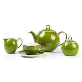 Чайный сервиз Monalisa Rainbow Or,15 пр., фисташковый 559511 3128 Tunisie Porcelaine