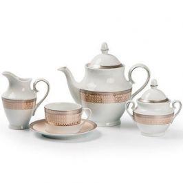 Сервиз чайный Tanit Victoir Platine, 15 пр. 659512 1489 Tunisie Porcelaine