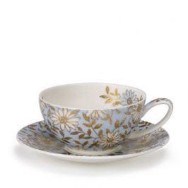Чашка чайная с блюдцем Аква (250 мл) DNN78570400 Dunoon