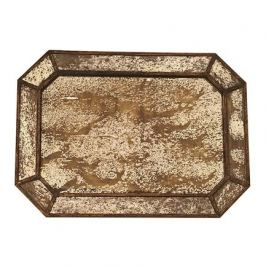 Поднос, 50х36х2 см, золотистый TR-865 Roomers