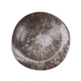 Тарелка E673, 28х27.5х7.5 см, серая E673-P-08156 28CM Roomers