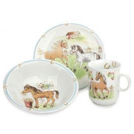 Сервиз детский Kinderseries Mein Pony, 3 пр. 001.716566 Seltmann