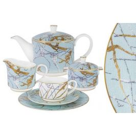 Чайный сервиз Марсель, 21 пр AL-M2262_21-E9 Anna Lafarg