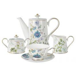 Чайный сервиз Лазурь, 15 пр AL-1324-XS-15-P4 Anna Lafarg
