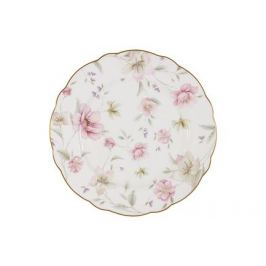 Тарелка обеденная Розовый танец, 26.5 см AL-M1661_DP-E9 Anna Lafarg