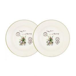 Набор суповых тарелок Букет, 21 см, 2 шт AL-80E2256-3-B-LF Anna Lafarg