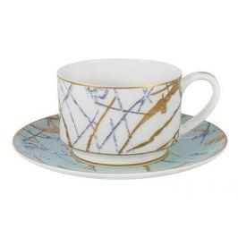 Чашка Марсель (200 мл), с блюдцем AL-M2262_CS-E9 Anna Lafarg