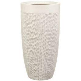 Кашпо Лотус Высокое Круглое, 38х72 см, слоновая кость MESHV38-AW IDEALIST